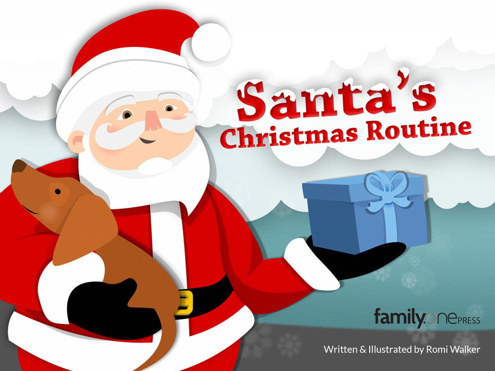 Santa eBook family one page00