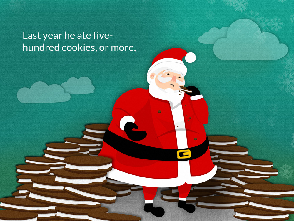 Santa eBook family one page03