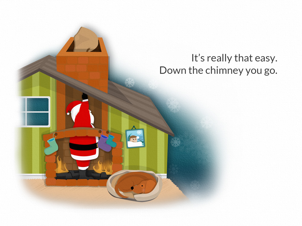 Santa eBook family one page09